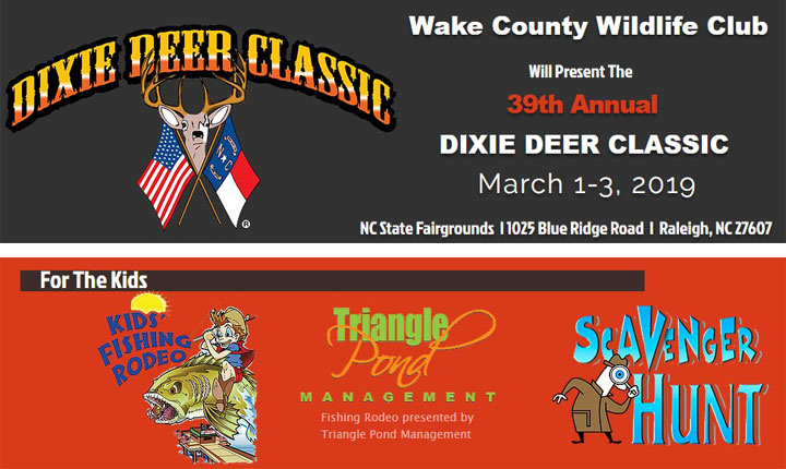 Kids Fish Rodeo at Dixie Deer Classic